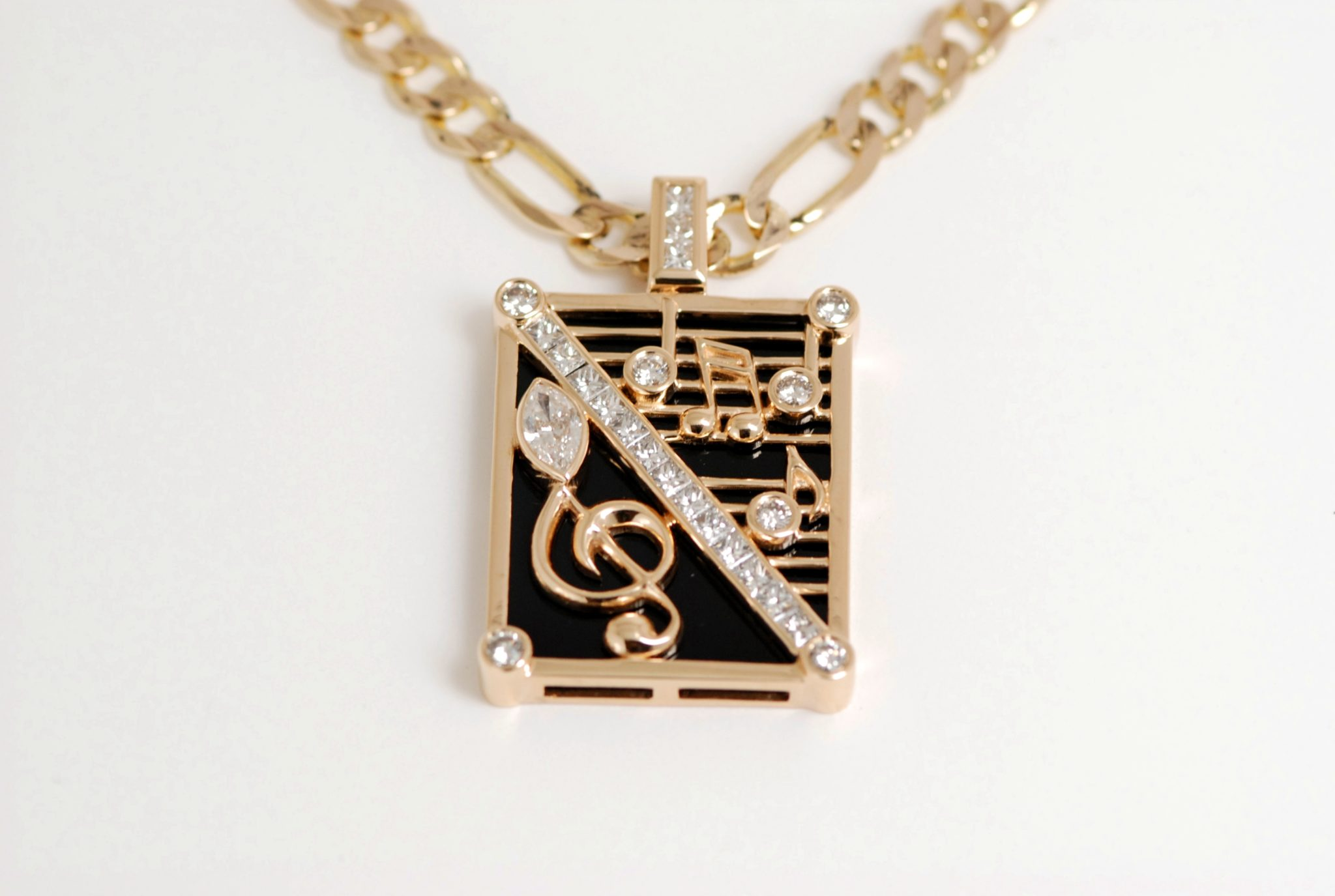 overstock tdw watches t diamond pendant gold w jewelry music today free i j product caressa note shipping