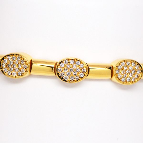 bracelet solid in bangles bracelets img set bangle gold diamond products