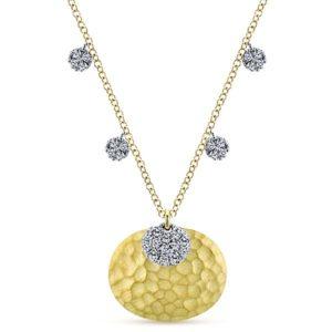 Gabriel-14k-Yellow-And-White-Gold-Souviens-Fashion-Necklace~NK4966M45JJ-1