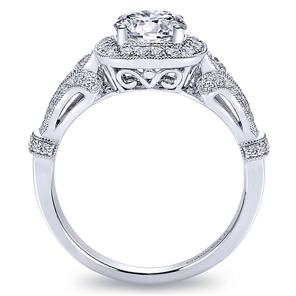 round diamond halo engagement ring er7479w44jj - Halo Wedding Ring