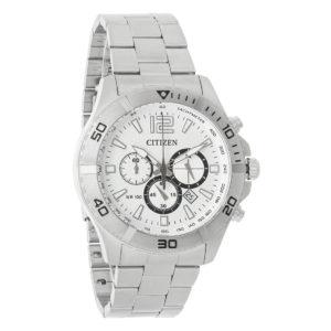 AN8120-57A Citizen Chronograph White Dial Men's Watch