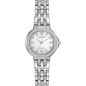EM0440-57A Citizen Silhouette Eco-Drive Silver Dial Women's Watch