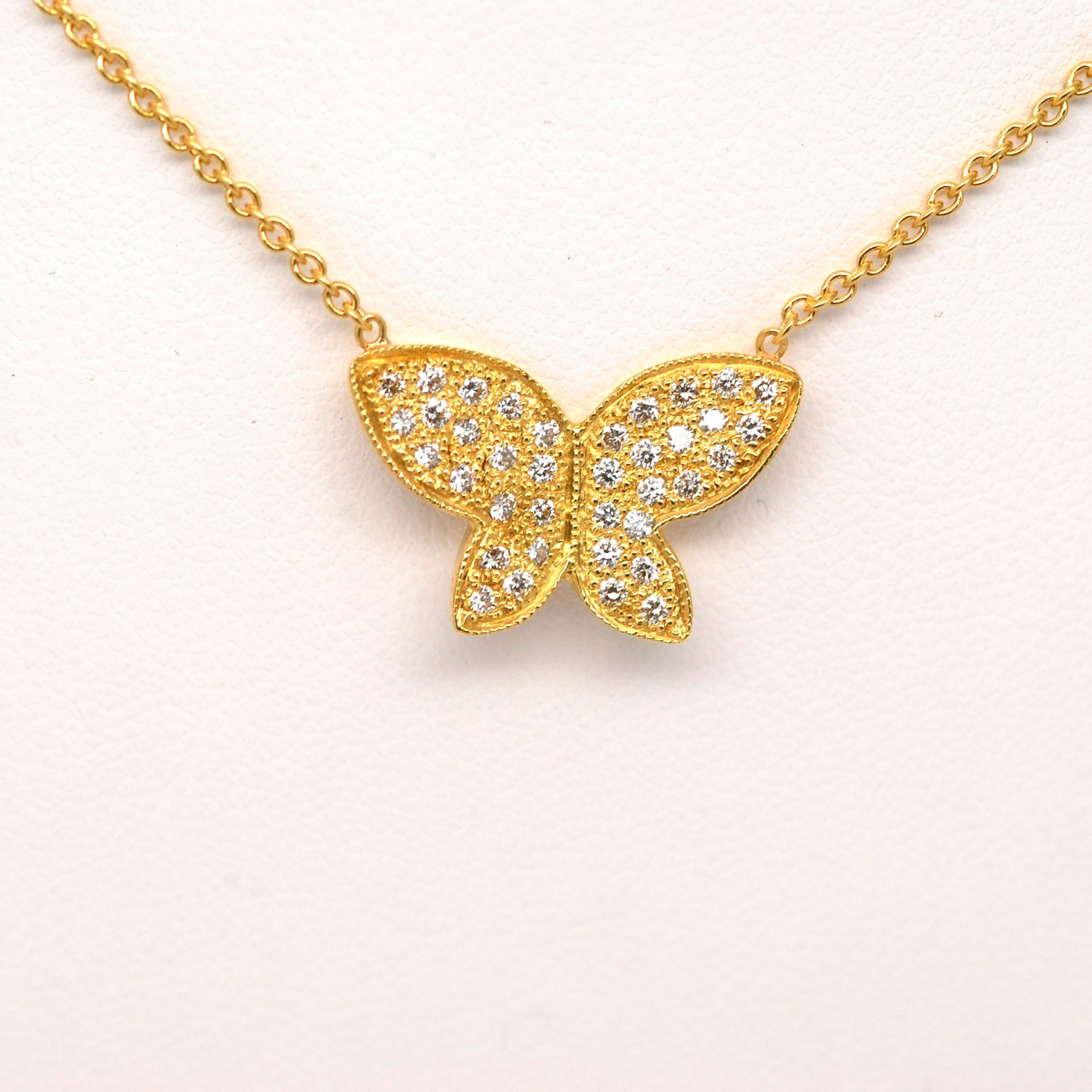 butterfly jewelry img by e products diamond kisses